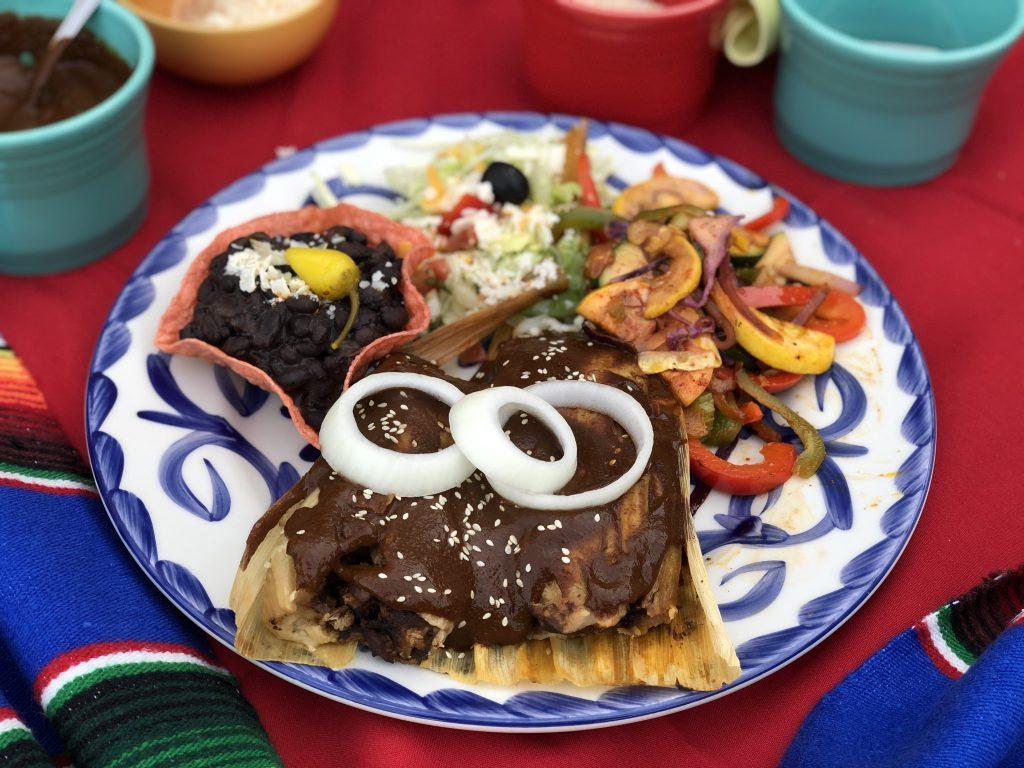 Casa de Pico Turkey Mole Tamales
